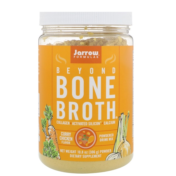 Jarrow Formulas, Beyond Bone Broth, Curry Chicken Flavor, 10.8 oz (306 g) (Discontinued Item)