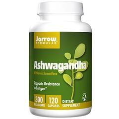 Jarrow Formulas, アシュワガンダ、300 mg、ベジタリアンカプセル 120錠