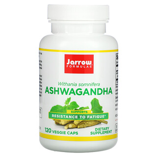 Jarrow Formulas, Ashwagandha, 120 Veggie Caps