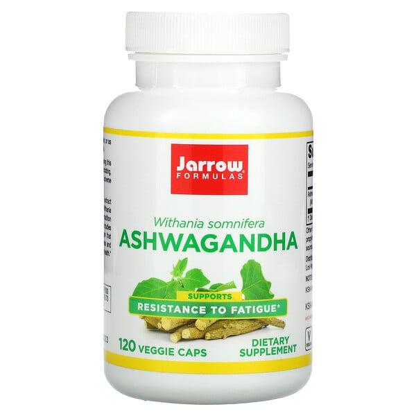 Jarrow Formulas, Ginseng indio, 120cápsulas vegetales
