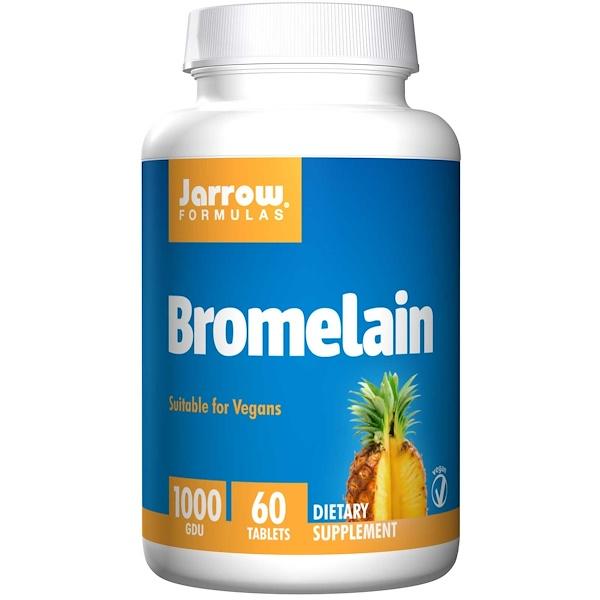 Jarrow Formulas, 菠蘿蛋白酶,1000 GDU,60粒