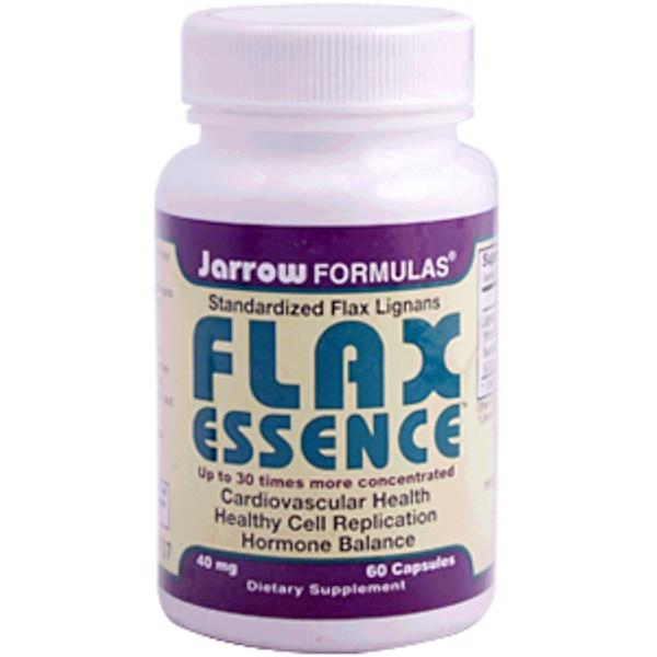 Jarrow Formulas, Flax Essence, 40 mg, 60 Capsules (Discontinued Item)