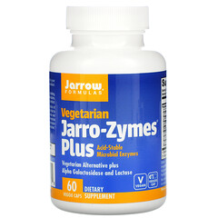 Jarrow Formulas, Jarro-Zymes Plus,素食,60 粒素食膠囊