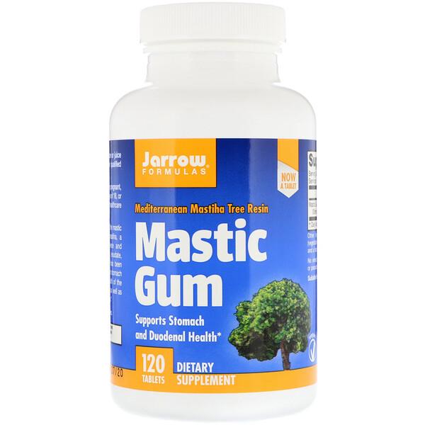 Jarrow Formulas, Mastic Gum, 120 Tablets