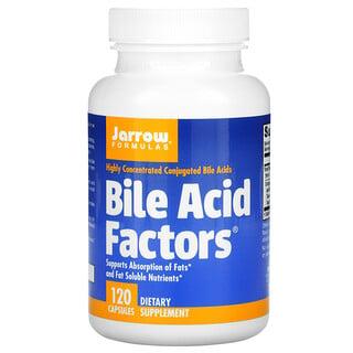 Jarrow Formulas, BileAcidFactors, добавка с желчными кислотами, 120капсул