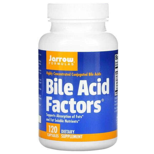 Bile Acid Factors, 120 Capsules