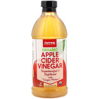 Jarrow Formulas, Vinaigre de cidre de pommes bio, 16 fl oz (473 ml)