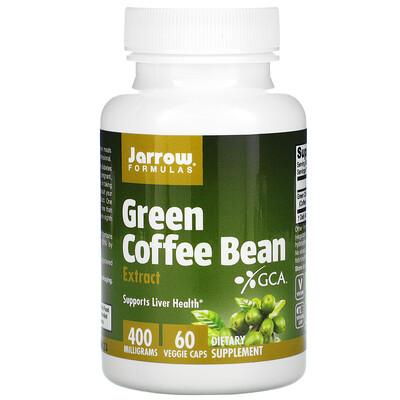Jarrow Formulas Экстракт зелёных кофейных зёрен, 60 овощных капсул