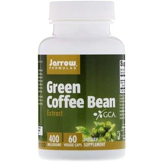 Jarrow Formulas, Extracto de Café Verde en Grano, 60 Cápsulas Veggie