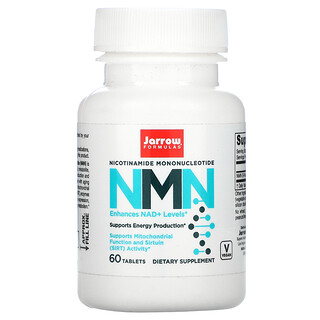 Jarrow Formulas, بيتا أحادي نيوكلوتيد النيكوتيناميد (NMN)، 60 قرص