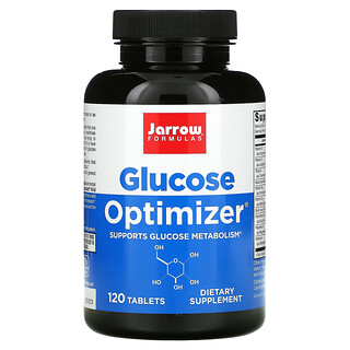 Jarrow Formulas, Glucose Optimizer, 120 Tablets