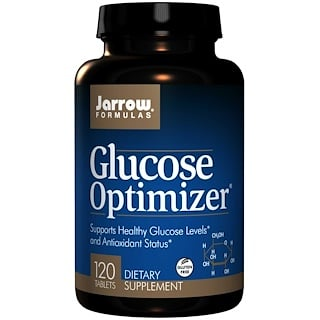 Jarrow Formulas, Glucose Optimizer, 120 Easy-Solv Tablets