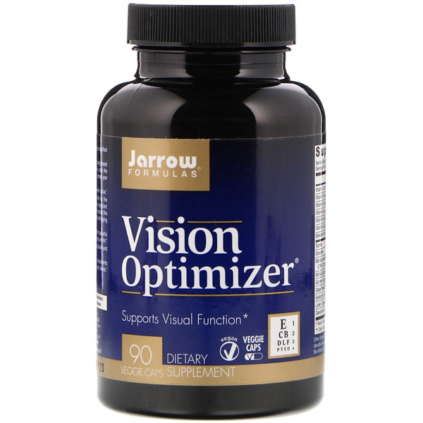 Jarrow Formulas, Vision Optimizer, 90 Veggie Caps