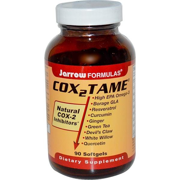 Jarrow Formulas, Cox 2 Tame, 90 Softgels (Discontinued Item)