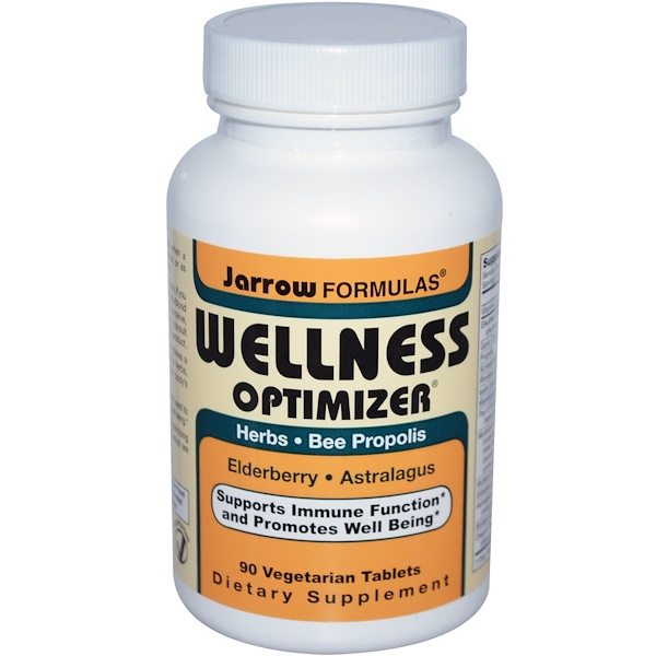 Jarrow Formulas, Wellness Optimizer, 90 Veggie Tabs (Discontinued Item)