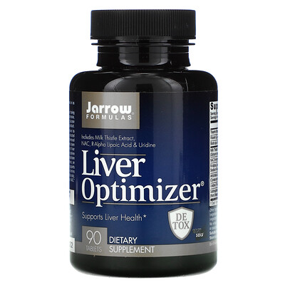 Jarrow Formulas Liver Optimizer, добавка для печени, 90 таблеток