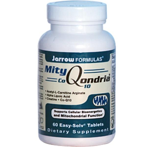 Jarrow Formulas, MityQondria CoQ10, 60 Easy-Solv Tablets (Discontinued Item)