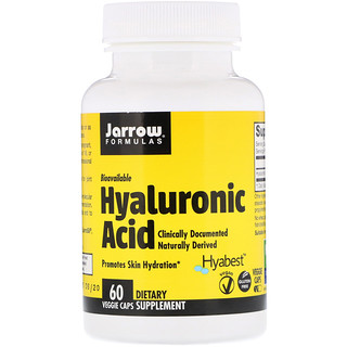 Jarrow Formulas, Hyaluronic Acid, 60 Veggie Caps