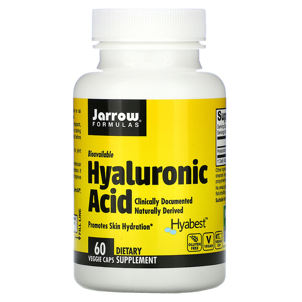Hyaluronic Acid, 60 Veggie Caps