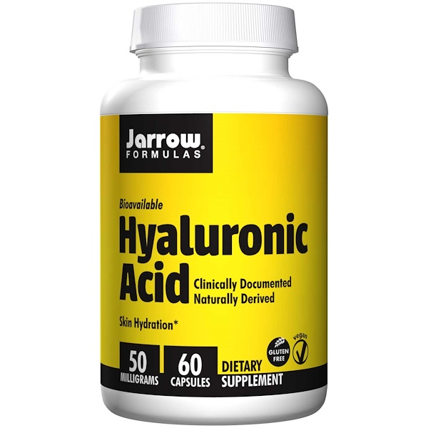 Jarrow Formulas, 히알루론산, 50 mg, 60베지켑슐