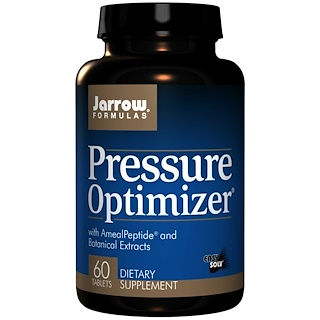 Jarrow Formulas, Pressure Optimizer, 60 Tablets