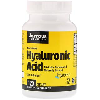 Jarrow Formulas, Ácido hialurónico, 120 cápsulas vegetales