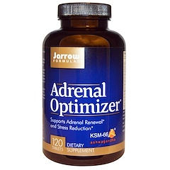 Jarrow Formulas, Adrenal Optimizer, 120 Tablets