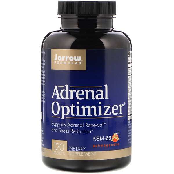 Jarrow Formulas, Adrenal Optimizer, 120 таблеток