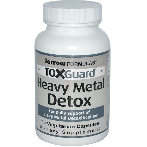 Jarrow Formulas, ToxGuard, Heavy Metal Detox, 90 Veggie Caps (Discontinued Item)
