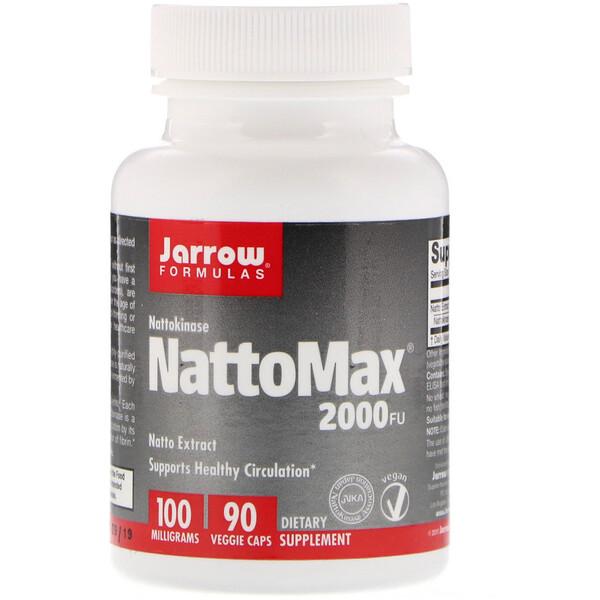 NattoMax 2000 FU, 100 mg, 90 Veggie Caps
