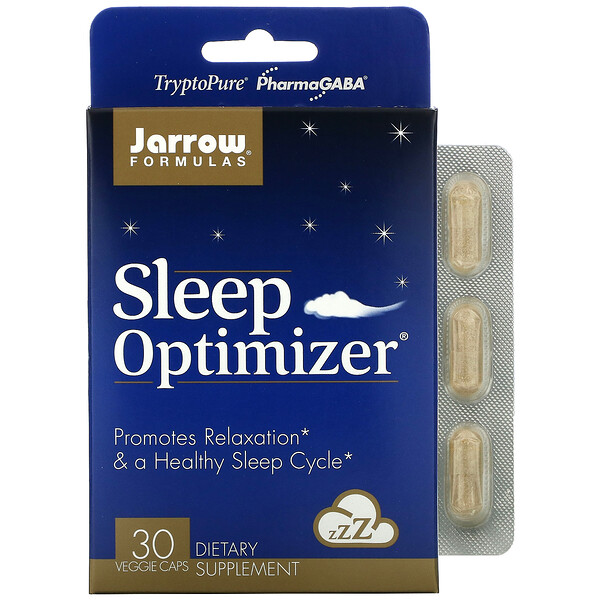 Jarrow Formulas, Sleep Optimizer, 30 Veggie Caps