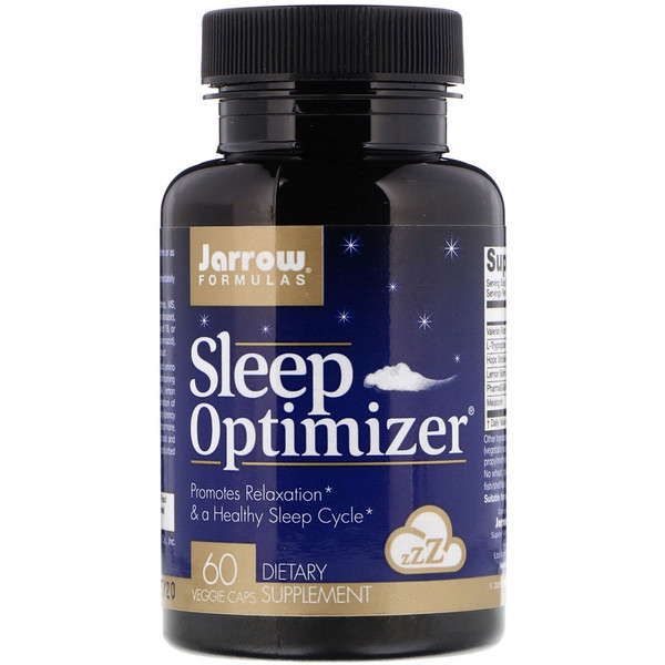 Jarrow Formulas, Sleep Optimizer, 60 Veggie Caps