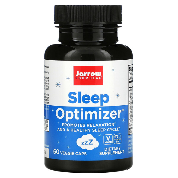 Sleep Optimizer, Verbesserung der Schlafqualität, 60vegetarische Kapseln