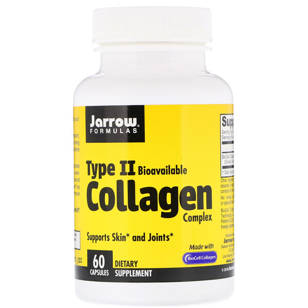 Jarrow Formulas, Type II Collagen Complex, 60 Capsules