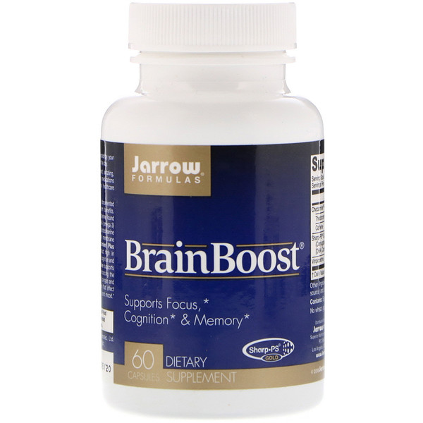 Jarrow Formulas, BrainBoost, 60 Capsules (Discontinued Item)
