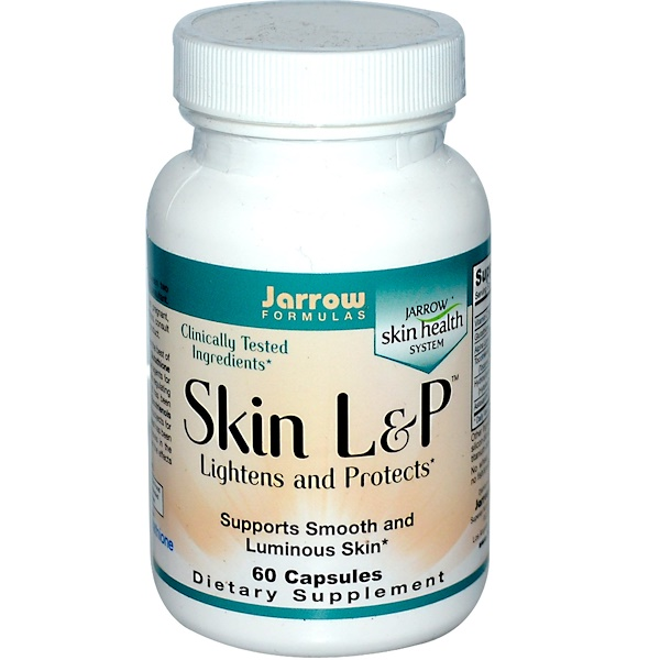 Jarrow Formulas, Skin L&P, Lightens and Protects, 60 Capsules (Discontinued Item)