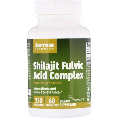 Комплекс с мумие и фульвокислотой, 250 мг, 60 вегетарианских капсул citicoline cdp choline 250 мг 60 капсул