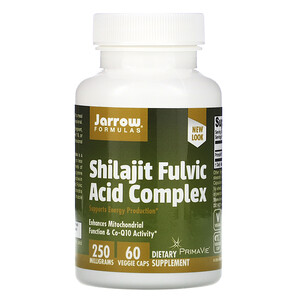 джэрроу формулас, Shilajit Fulvic Acid Complex, 250 mg, 60 Veggie Caps отзывы