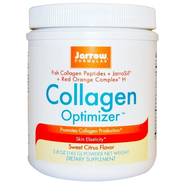 Jarrow Formulas, Collagen Optimizer, Sweet Citrus Flavor, 5.8 oz (165 g) (Discontinued Item)