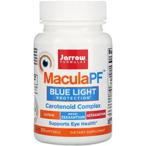 джэрроу формулас, MaculaPF, Blue Light Protection, 30 Softgels отзывы покупателей