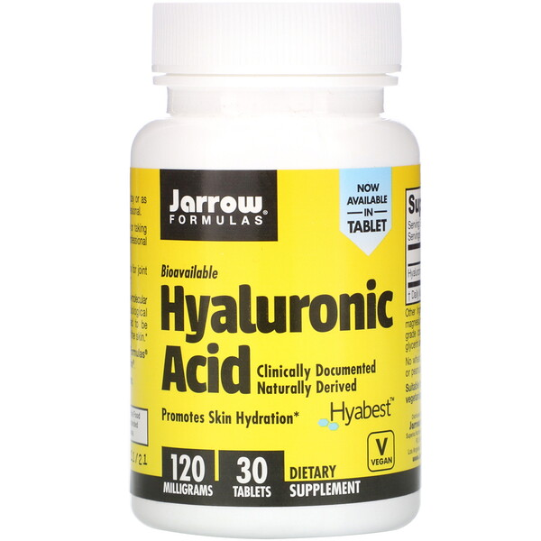 Jarrow Formulas, Hyaluronic Acid, 120 mg, 30 Tablets