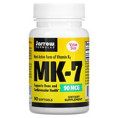 Jarrow Formulas, MK-7,90 微克,90 粒軟凝膠