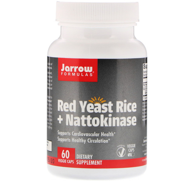 Red Yeast Rice + Nattokinase, 60 Veggie Caps