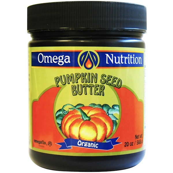 Jarrow Formulas, Omega Nutrition, Organic Pumpkin Seed Butter, 20 oz (568 g) (Discontinued Item)