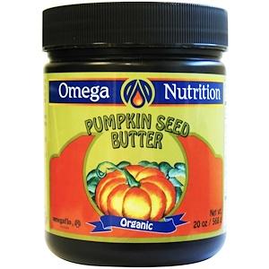 джэрроу формулас, Omega Nutrition, Organic Pumpkin Seed Butter, 20 oz (568 g) отзывы покупателей
