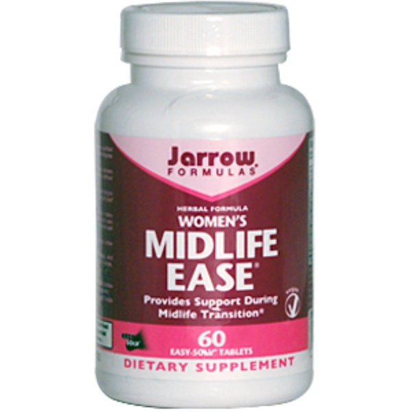 Jarrow Formulas, Women's Midlife Ease, 60 Easy-Solv Tablets (Discontinued Item)