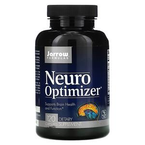 джэрроу формулас, Neuro Optimizer, 120 Capsules отзывы покупателей
