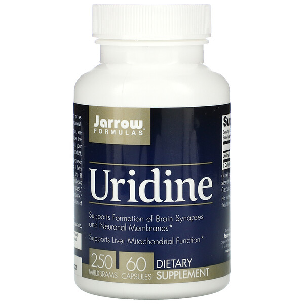 Uridine, 250 mg, 60 Capsules