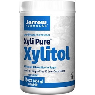 Jarrow Formulas, Xyli Pure, Xylitol, Powder, 16 oz (454 g)