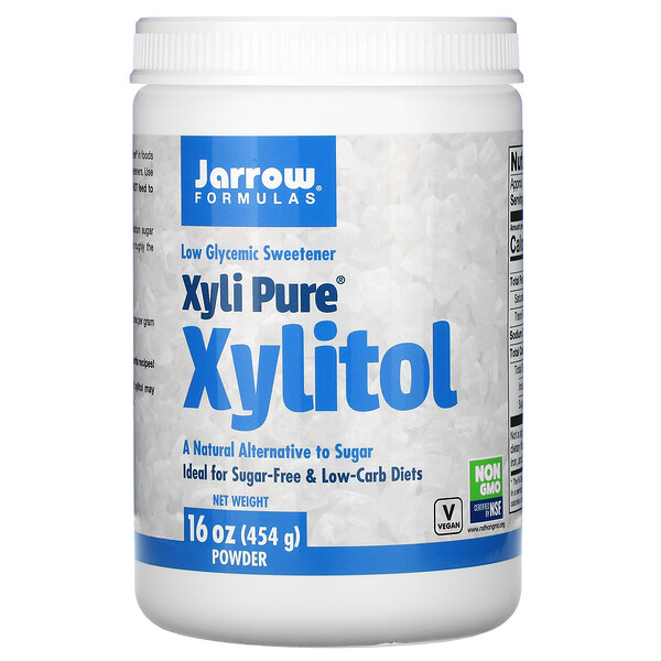 Jarrow Formulas, Xyli Pure, Xylitol Powder, 16 oz (454 g)